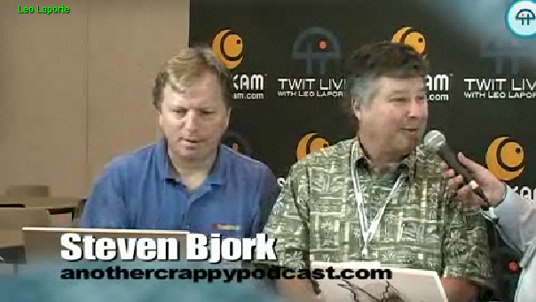 Steve Bjork representing ACP at the 2008 New Media Expo in Las Vegas on 8/15/2008