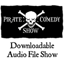 Pirate Comedy Show Logo